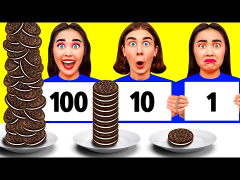 100 खाद्य परतें चुनौती #8 CRAFTooNS Challenge