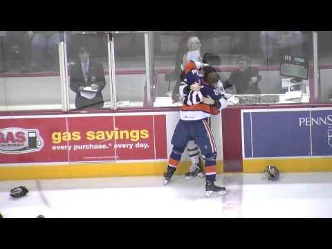 Hershey Bears - Bridgeport Sound Tigers - AHL Line Brawl - February 21, 2015