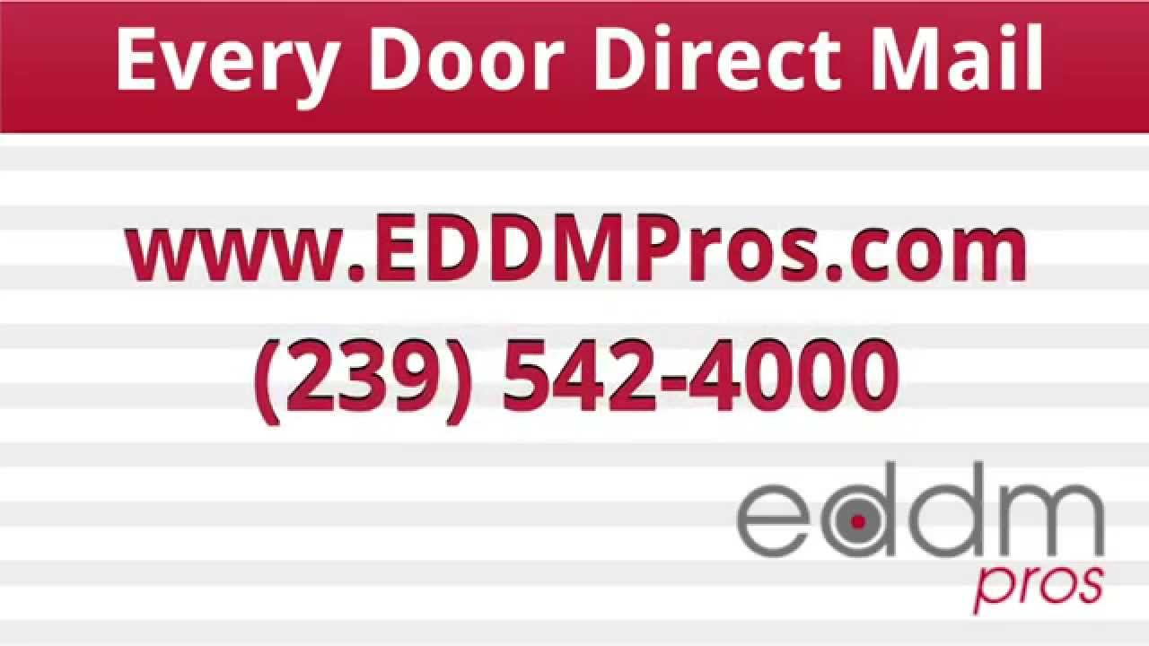 Eddm Direct Mail Florida Usps Every Door Direct Mail
