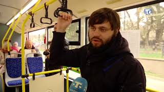 В Крыму запустили первый электробус