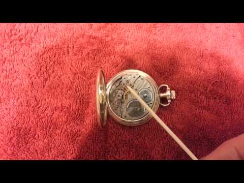 elgin pocket watch dating