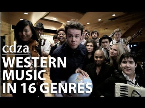 An Abridged History of Western Music in 16 Genres