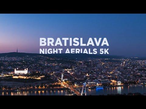 Bratislava Night Aerials 5K - Old Town & Downtown (Slovakia)