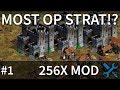 The Most OP STRAT on Forest Nothing!? 256x Mod!