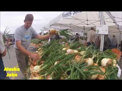 ALASKA FARMER'S MARKET - South Anchorage Market - Gopro