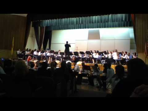 Terrill Middle School 5th Grade Band playing Jingle Bell