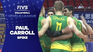 Carroll ends great rally with spike - World League 2017