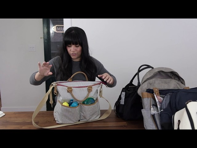 6 of the best diaper bags out there - Review and comparison