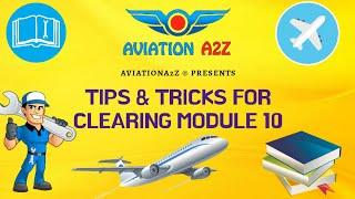 Gambar cover TIPS & TRICKS FOR MODULE 10  AVIATIONA2Z © 