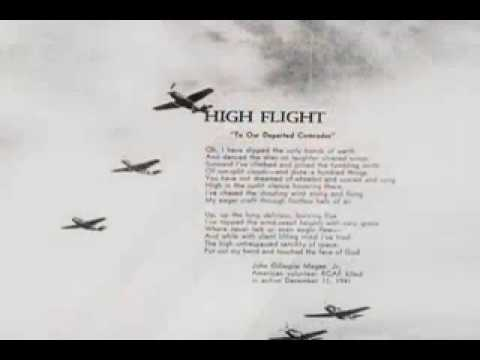 "Heroes of the 354th: Fred Fehsenfeld Reads ""High Flight"""