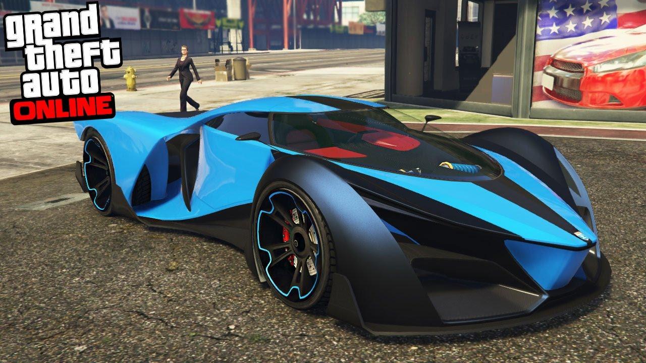 gta online fastest car in gta 5 youtube. Black Bedroom Furniture Sets. Home Design Ideas