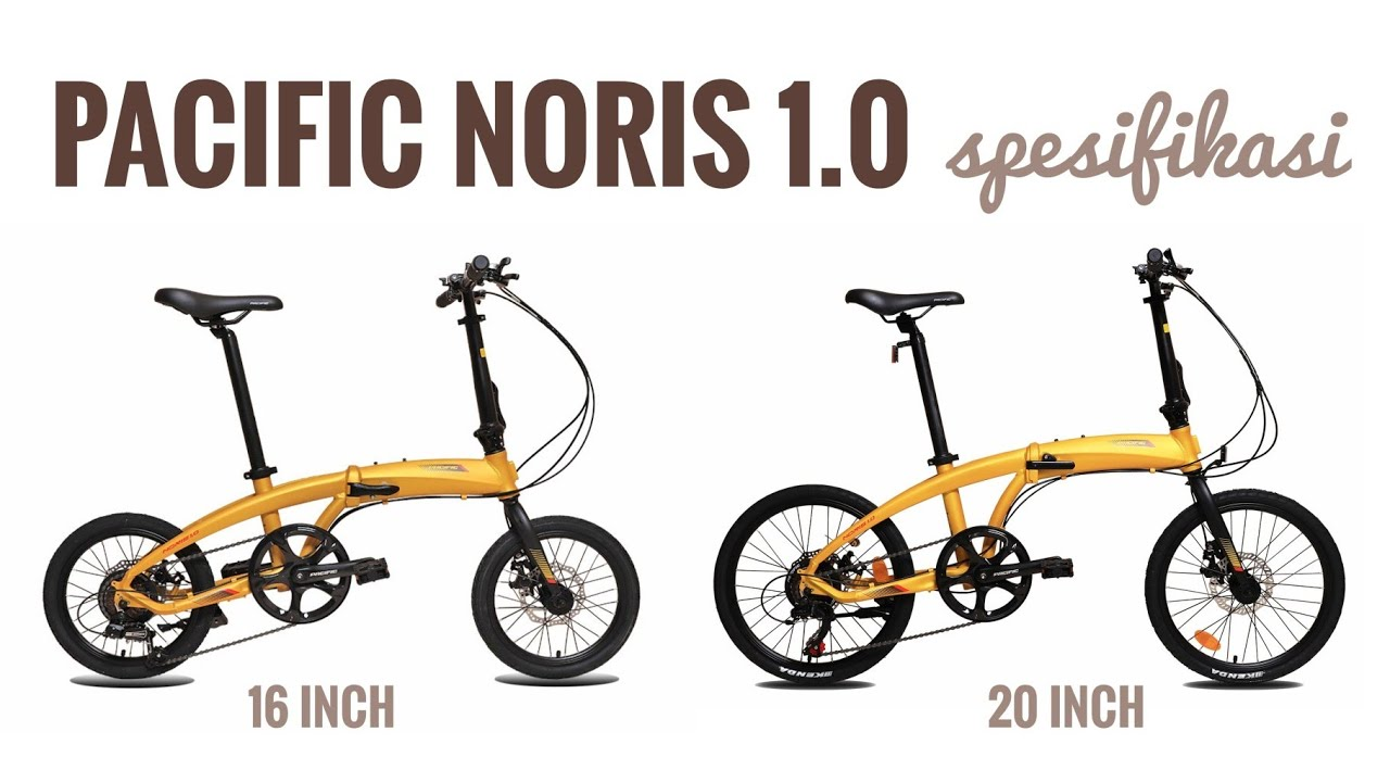 Pacific Noris 1 0 Spesifikasi 16 Inch Dan 20 Inch Terbaru Youtube