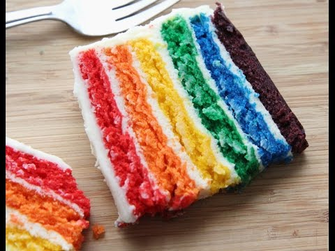 How To Make A Rainbow Cake (Easy, From-Scratch Recipe)