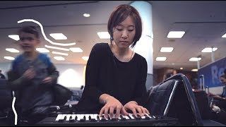 Mini Keyboard at the Airport (Reface CP) | Sound Bank 7
