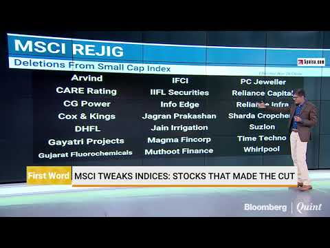 MSCI Tweaks Indices: Stocks That Made The Cut