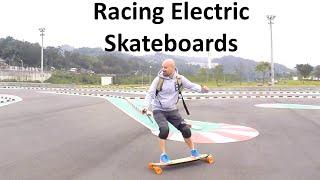 #08 Racing Electric Skateboards - Electric Skateboard Taipei [滑板比賽 - 電動滑板台北]