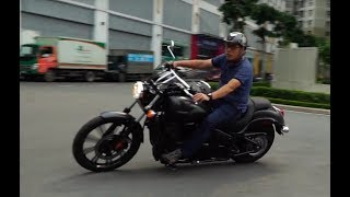 [Autozone.vn] Trải nghiệm Kawasaki Vulcan 900 Custom