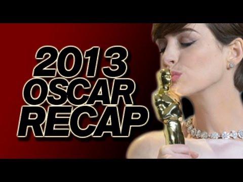 Oscar Winners 2013 - Academy Awards Recap and Oscars Review