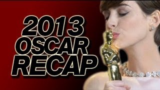 Oscar Winners 2013 - Academy Awards Recap and Oscars Review