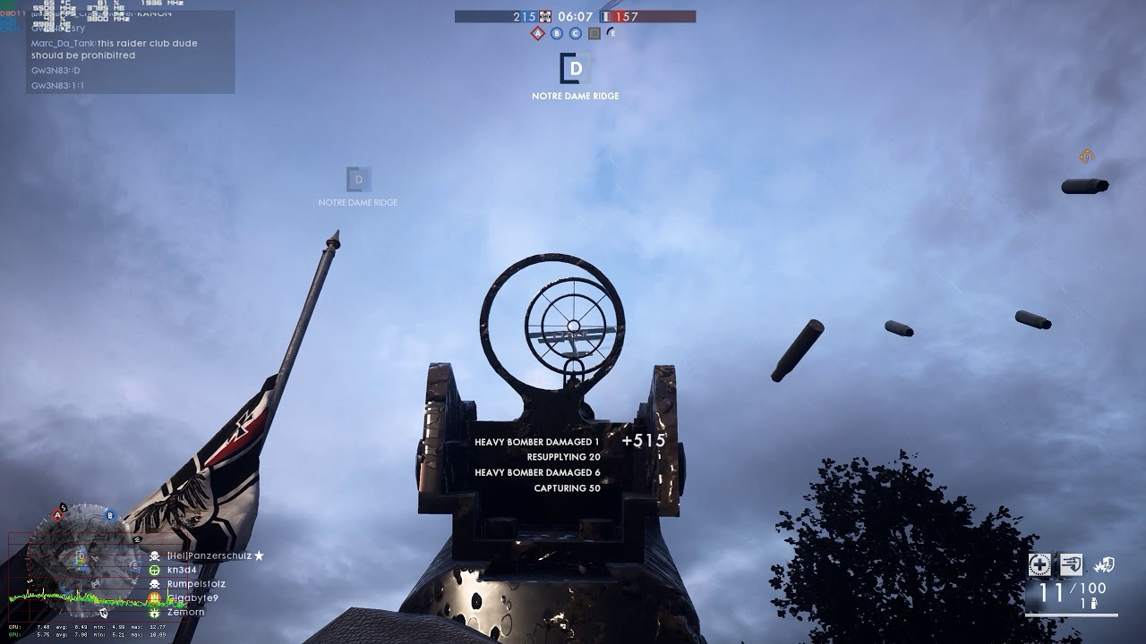 Battlefield 1 Gameplay Windows 10 Nvidia stutter freezing and hitching