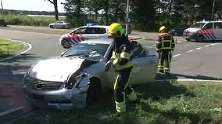 TVEllef: Auto's botsen in Posterholt