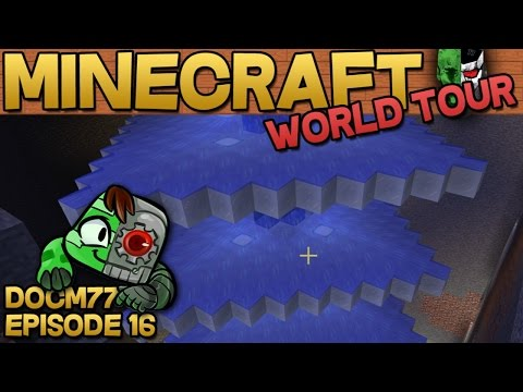 Will it Blend? - The Minecraft World Tour - S4E016 | Docm77