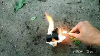 Видео урок : Как разжечь угли для кальяна после дождя