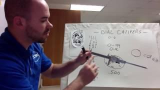 How to Read a Dial Caliper