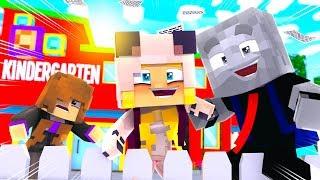 2 KINDER FLÜCHTEN aus der VORSCHULE! - Minecraft [Deutsch/HD]