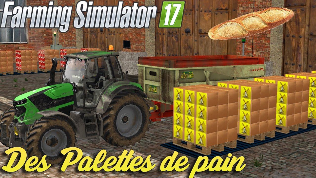 du pain dans farming simulator 17 un petit coin de campagne youtube. Black Bedroom Furniture Sets. Home Design Ideas