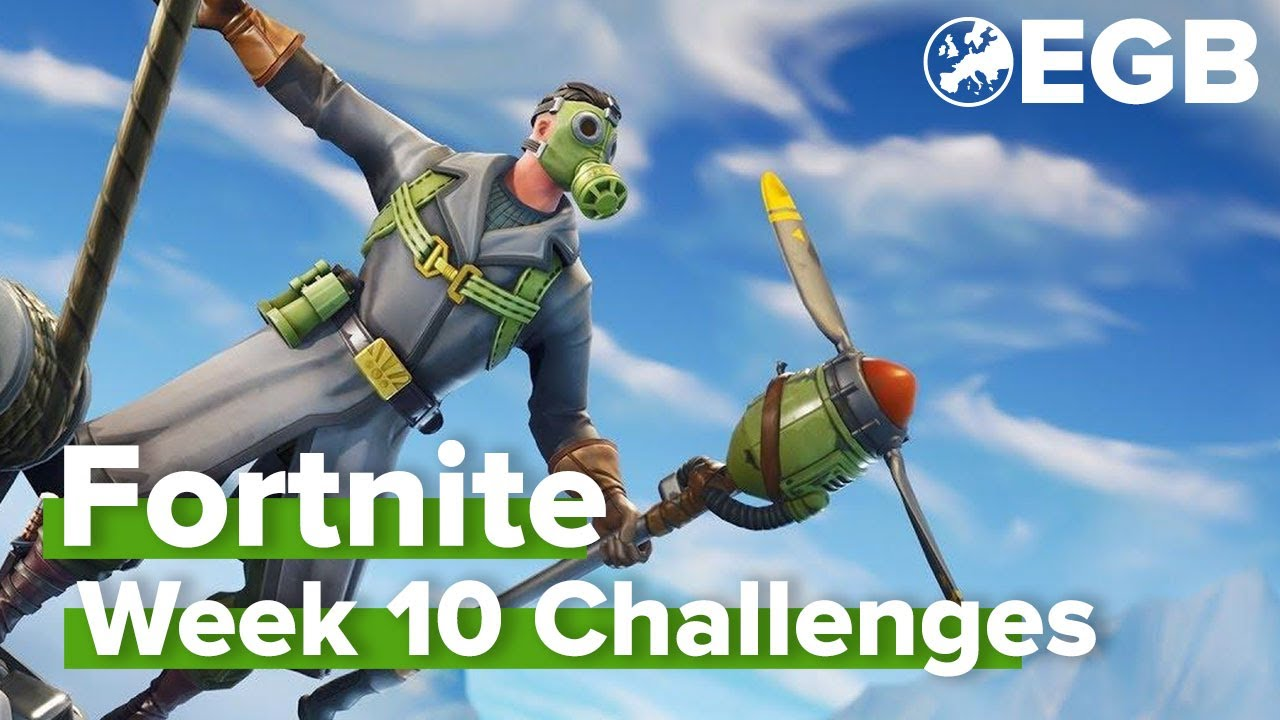Fortnite Seizoen 5 week 10 - Alle oplossingen!