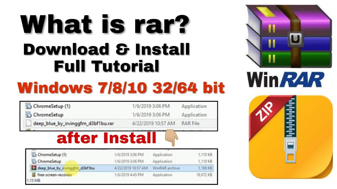 rar file free download for windows 7 32 bit