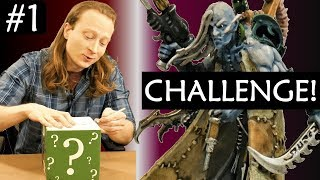 YouTuber Mini Painting CHALLENGE! Collab with eBay Miniature Rescues