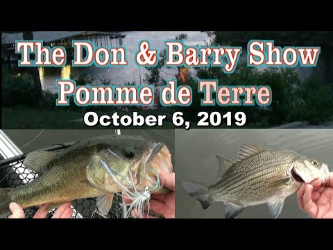 The Don And Barry Show - Pomme De Terre Lake 6 Oct 19