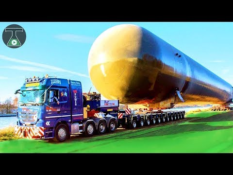10 World's LONGEST Trucks with Powerful Engine