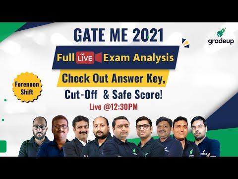 GATE Mechanical Full Exam Analysis & Answer Key | Live 14th Feb Shift 1 | Do not Miss! | Gradeup