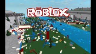 ROBLOX Train Crashing On Bridge!