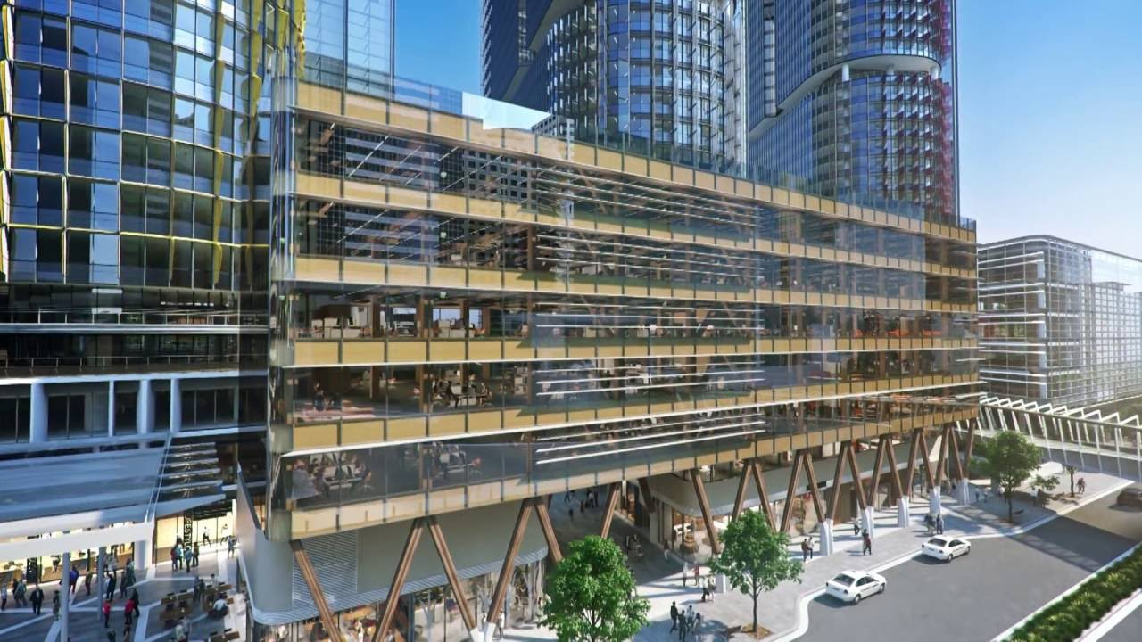 Barangaroo South International House Sydney Youtube