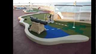 Goofy Golf Aboard The Disney Dream & Disney Fantasy