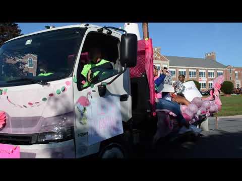 PT1 - Conrad High School HomeComing Parade 2017