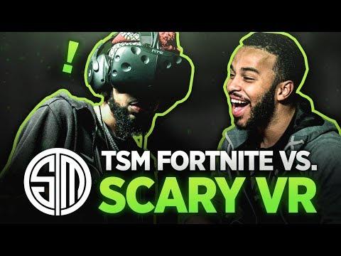 TSM Fortnite vs. Scary VR!
