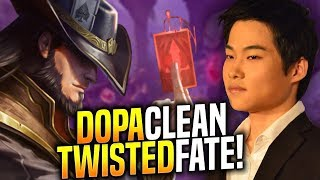 DOPA Perfect Game with his MAIN TWISTED FATE! - When Dopa Picks Twisted Fate Mid! | Be Challenger