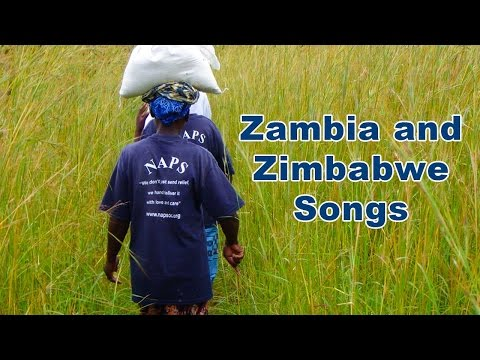 Songs from Zimbabwe and Zambia
