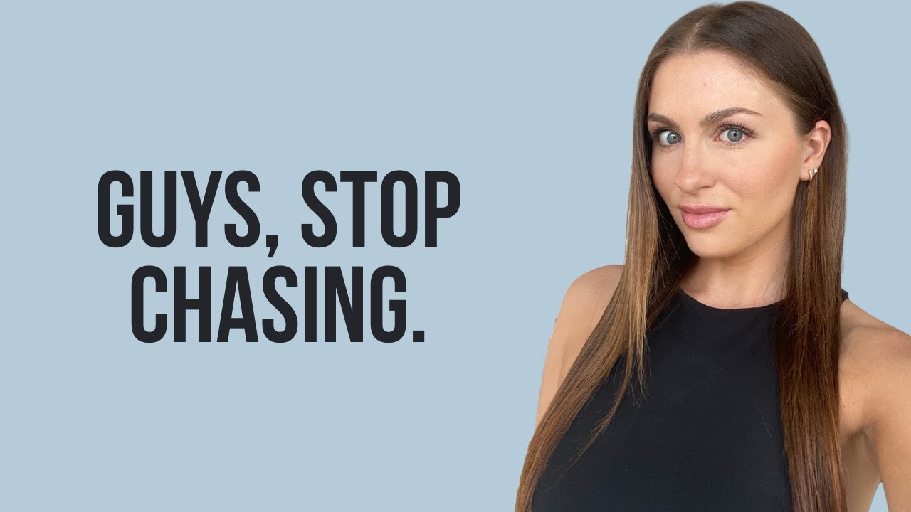 4 Reasons You Need To STOP Chasing Her (YOU'RE WASTING YOUR TIME!) | Courtney Ryan