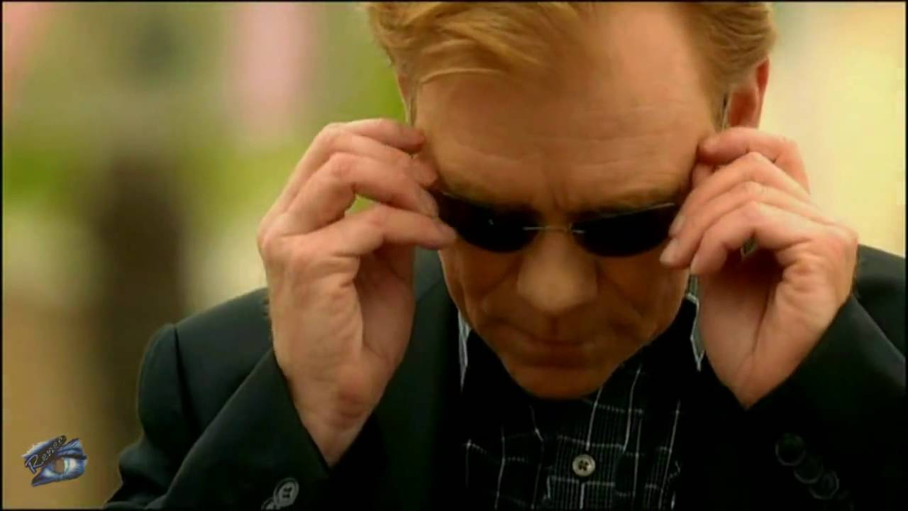 4c00de0ee575 CSI Miami Horatio Caine Endless Sunglasses Summer - YouTube