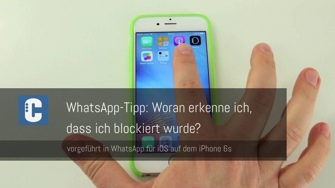 wie blockiert man auf whatsapp