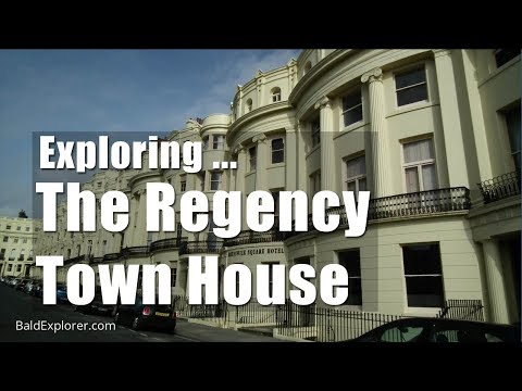 Walks In Sussex:  Exploring The Regency Town House - Part One