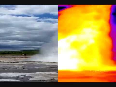 Thermal analysis of Geysir