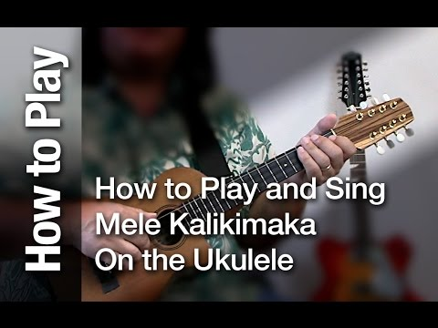 How To Play And Sing Mele Kalikimaka On The Ukulele For Christmas