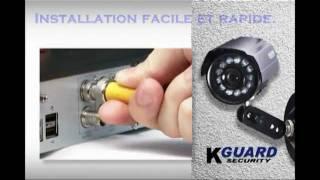 Présentation Kits DVR + caméras KGuard